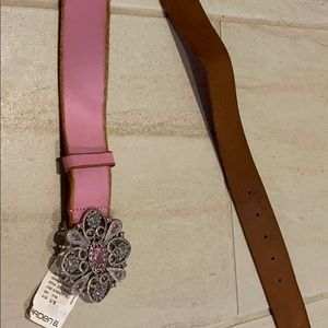 Arden B Leather Belt S/M